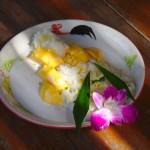 Sticky Rice und Mango