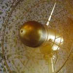 Goldener Palast-Ventilator