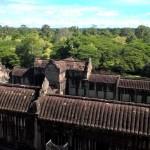 Aussicht von Angkor Wat