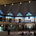 Malaysias National-Moschee im Fastenmonat Ramadan